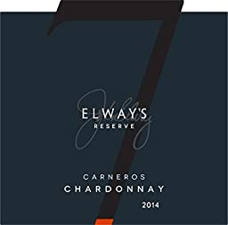2014 Elway\'s Reserve Carneros Chardonnay 750ml Wine