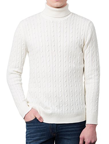 uxcell Allegra Turtleneck Sleeves Pullover