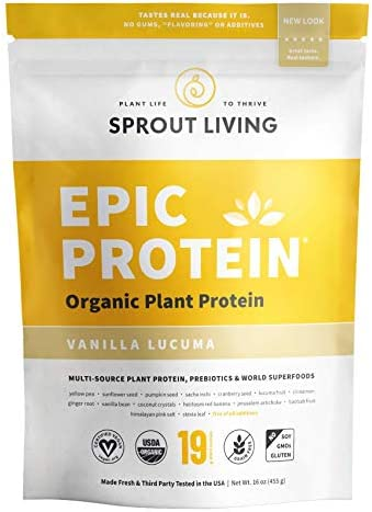 Sprout Living Protein Additives Servings