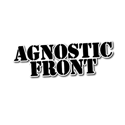 Agnostic Front Sticker Rock Band Decal for Car Window, Bumper, Laptop, Skateboard, Wall, ETC. - Stickers Agnostic Bumper