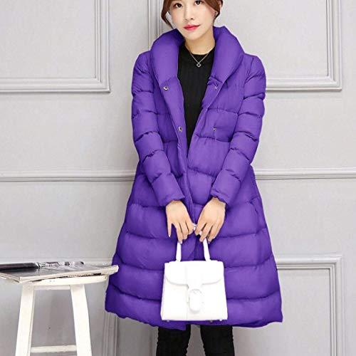 Casual Mujer Con Lila Manga Cinturón Colores Caliente Elegantes Tq11Rx4w