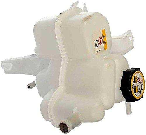 Plastic Reservoir (APDTY 714326 Coolant Reservoir Fluid Overflow Plastic Bottle Housing w/ Cap Fits Select Ford Escape Mazda Tribute Murcury Mariner (Replaces YL8Z8100AA, YL8Z8A080AE, BL8Z8A080A))