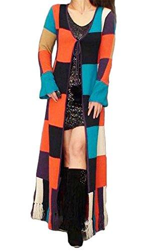 Knit Sweater Coat Pattern - 5