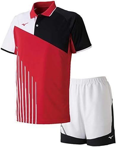 ゲームシャツ&ゲームパンツ上下セット(バーチャルピンク/ホワイトブラック) 62JA9003-65-62JB9001-01