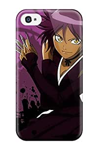 Durable Defender Case For Iphone 4/4s Tpu Cover(bleach Android )