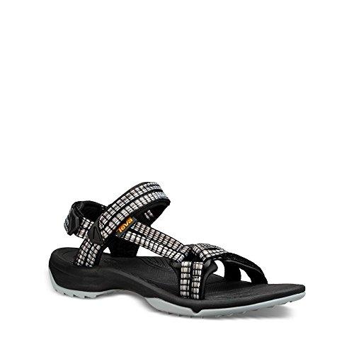 FI Teva Women's Terra Samba Black Multi Lite Sandal BqRErqS
