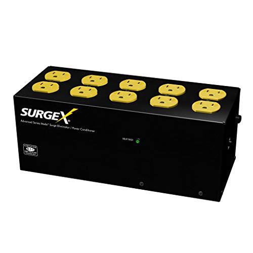 SurgeX SA-1810 Standalone Surge Eliminator - 15A / 120V, 10 outlets ()