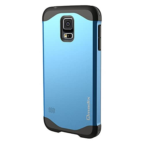 Qmadix X Series Cover for Samsung Galaxy S5 - Retail Packaging - Blue