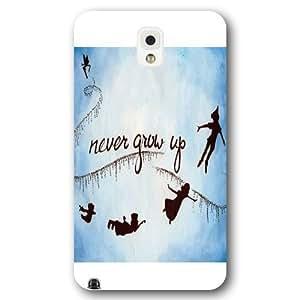 Customized White Disney Cartoon Peter Pan Samsung Galaxy Note 3 Case