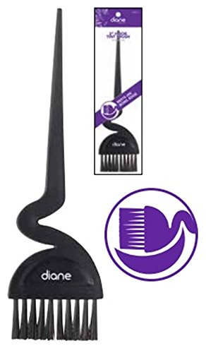 Diane Hair Dye Brush Curved Shape to Sit On The Tub