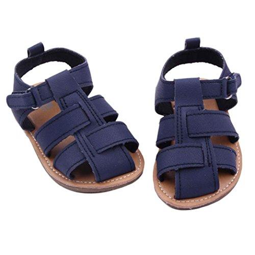 Tefamore Zapatos Bebe sandalias de Antideslizante de Suave Zapatilla de Primeros caminantes de Moda Armada