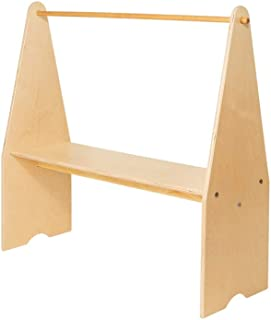 product image for Little Colorado Wooden Play Stand in Unfinished