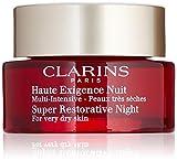 Clarins Women's Super Restorative Night Cream, Very Dry Skin, 1.6 Ounce