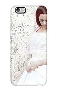 Iphone 6 Plus Case Cover Red Haired Pretty Girl Case Eco Friendly Packaging