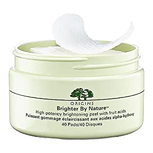 Origins Brighter By Nature153; High-Potency Brightening Peel with Fruit Acids 40 Pads