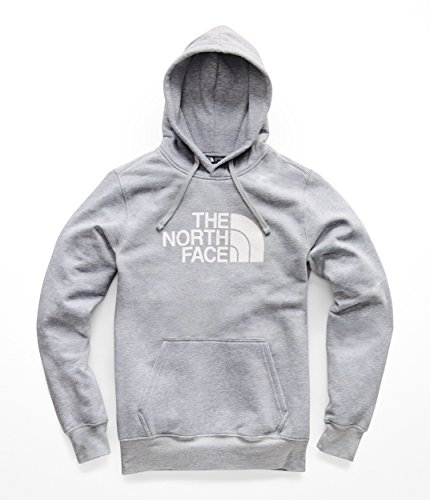 The North Face Men's Half Dome Pullover Hoodie - TNF Light Grey...