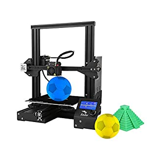 "Creality Ender 3 Pro 3D Printer 8.6"" x 8.6"" x 9.8"" with Meanwell Power Supply and Removable Cmagnet Build Surface Plates 3D Printers"
