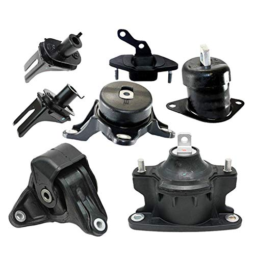 2011 Honda Accord Engine Motor - K1968 Fits 2008-2012 Honda Accord 2.4L AUTO Engine Motor & Trans Mount Full Set 7pcs : A4565 A4591 A65025 A4572 A4570 A4584 A4561
