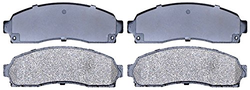 ACDelco 14D833M Advantage Semi-Metallic Front Disc Brake Pad Set