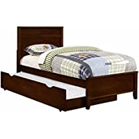 Coaster Ashton Twin Panel Bed in Cappuccino