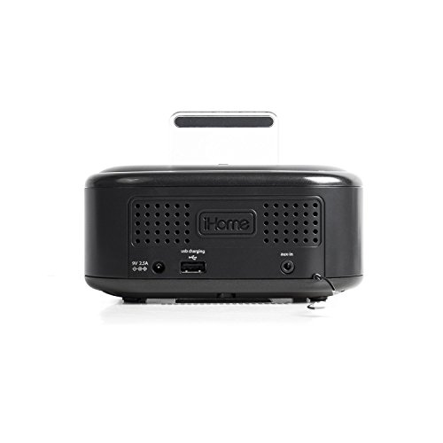 ihome clock radio ihome ipl23v2 stereo fm clock radio with lightning 12010