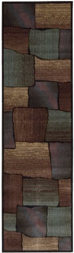 """Nourison Expressions (XP05) Multicolor Runner Area Rug, 2-Feet 3-Inches by 8-Feet  (2'3"""" x 8')"""