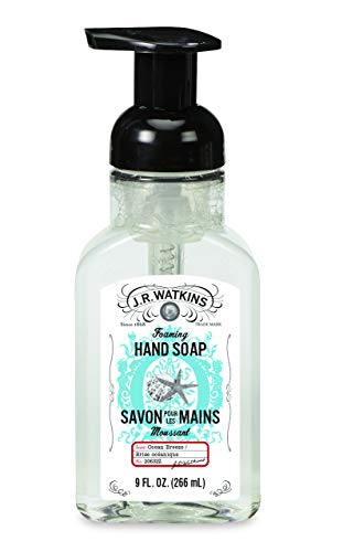 J.r. Watkins 20632 Foam Hand Soap, Ocean Breeze Scent, 9 Oz (Pack Of 6)