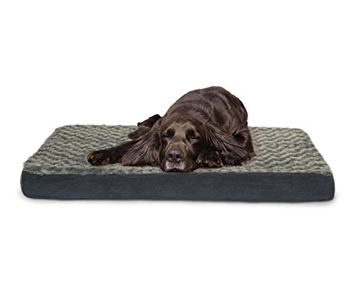 Orthopedic Cat Beds (FurHaven Pet Nap Ultra Plush Deluxe Orthopedic Mattress Pet Bed for Dogs and Cats, Large)