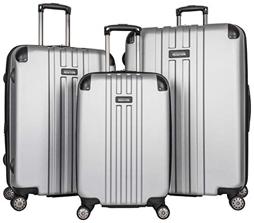 (Kenneth Cole Reaction Reverb Hardside 8-Wheel 3-Piece Spinner Luggage Set: 20