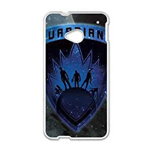 HTC One M7 Cell Phone Case White Guardians Cosmic Shield Iicap
