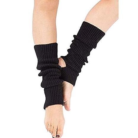 Zomiee - Calcetines de Yoga para Mujer y niña, Calcetines de Entrenamiento sin Dedos, Negro: Amazon.es: Deportes y aire libre
