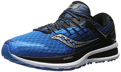 Saucony Triumph Iso 2 - Zapatillas de Running para Asfalto Hombre, Azul (Blue /     Black /     Silver), 42 EU