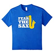 Funny Saxophone Player Gift Fear The Sax T Shirt