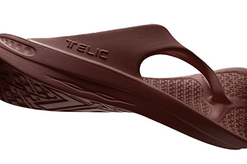 Telic / Terox Flip Flop Sandal Sko Farge Espresso Brune Ulike Størrelser