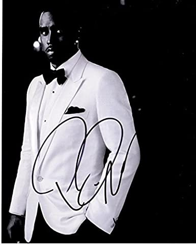 P Diddy Sean Combs Puff Daddy Signed - Autographed Rapper