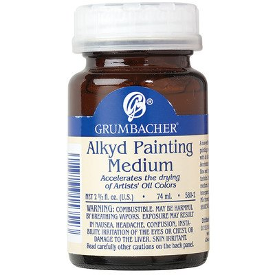 Grumbacher Alkyd Painting Medium  2-1/2 Jar, #5802
