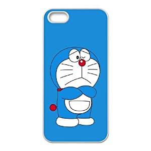 Doraemon iPhone 4 4s Cell Phone Case White TPU Phone Case SV_114929