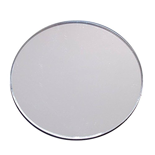 (Source One 6 Pack Shatter Proof Round Centerpiece Acrylic Mirrors (12 Inch))