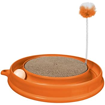 Amazon Add-on Item:Catit Play 'n Scratch Cat Toy (Orange) $4.87 online deal