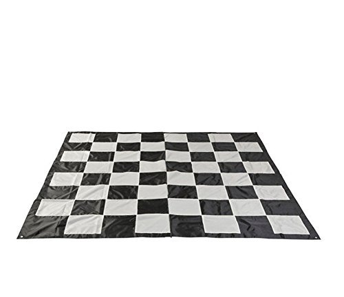 MegaChess Mega Checkers Game Mat - Nylon - Mega Size by MegaChess