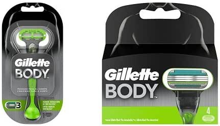 Gillette - Pack Gillette Body Maquinilla para el Cuerpo para ...