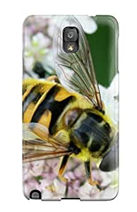 Areebah Nadwah Dagher's Shop New Style Galaxy Case - Tpu Case Protective For Galaxy Note 3- Bee 8703443K59782069
