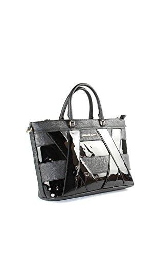 Mano Linea De Alcantara Nappa Jeans Liscia Noir Bolsa Versace 4nqz1wPgv