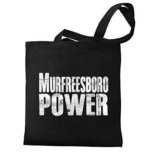 Eddany Murfreesboro power Canvas Tote - Murfreesboro Shopping