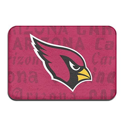 Marrytiny Design Colorful Doormat American Football Team Arizona Cardinals Indoor Non Slip Floor Doormat Mats Suitable Bathroom Bedroom Entrance Toilet 15.7 X 23.6 Inches