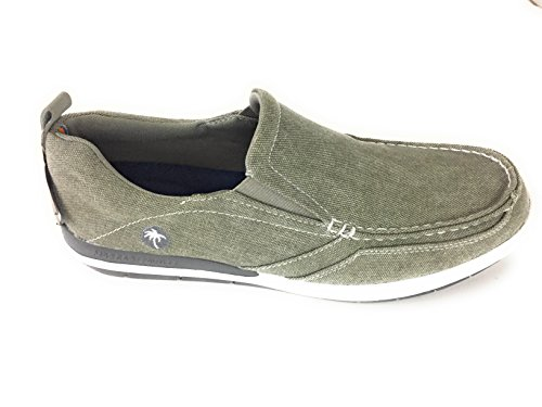 Margaritaville Footwear Men's Marina Canvas Boat Shoe Light Grey discount new styles outlet footlocker free shipping largest supplier bjd9qLQAhT