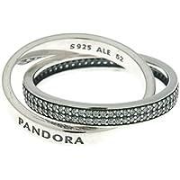 PANDORA Sweet Promise Ring, Pink CZ 196546PCZ