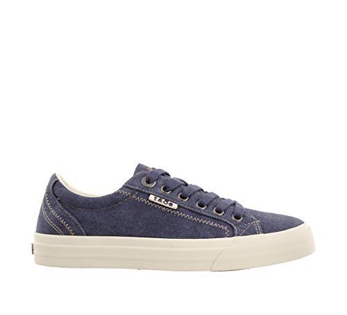 Sneaker Footwear Wash Blue Canvas Soul Taos Women's Plim IOqCWw4