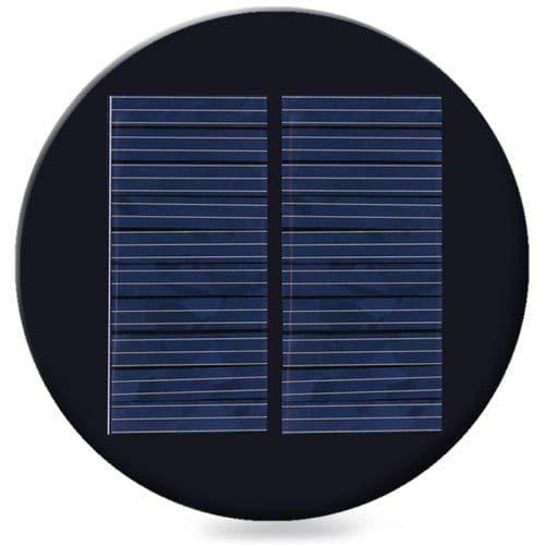 ExcLent Wg0069/I Policristallino Pannello Solare In Silicio-Nero