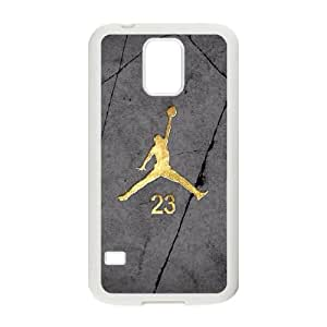 Jordan logo Samsung Galaxy S5 Cell Phone Case White&Phone Accessory STC_224452